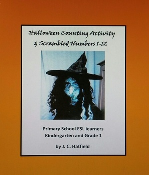 Halloween Vocabulary Focus: Writing Numbers 1 to 12