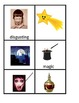 Halloween Vocabulary Memory/ Concentration for ESL or ELL