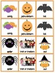Halloween Vocabulary Memory Game
