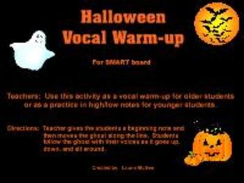 Halloween Vocal Warm-up