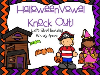 Halloween Vowel Knock Out