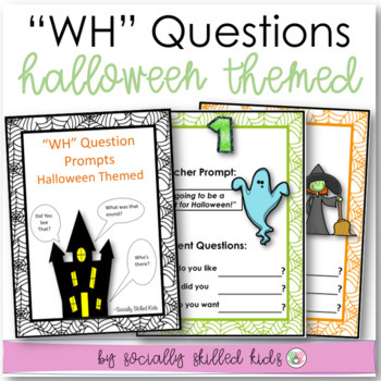 """Wh"" Question Prompts~ Asking Questions/Responding To Othe"