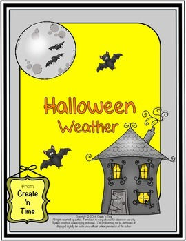 Halloween Weather FREE Choice Board Activity for Middle Sc