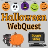 Halloween Webquest - Reading Comprehension, Computer Tech,