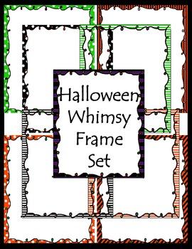 Halloween Whimsy Frame Set
