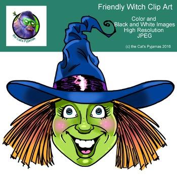 Halloween Witch Freebie