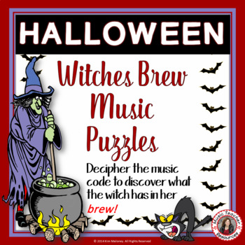 Halloween: Witches Brew Music Puzzles
