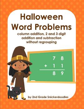 Halloween Word Problems: addition and... by 2nd Grade ...