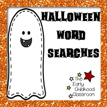 Halloween Word Searches (No Prep!)