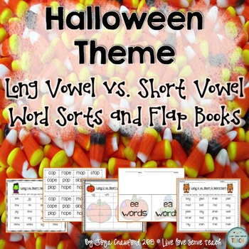 Halloween Word Sorts Bundle