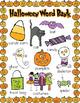 Halloween Word Work Centres