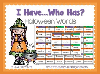 Halloween Reading Game