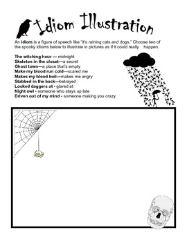 Halloween Words and Idioms