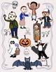 Halloween Worksheet Borders and Halloween Clip Art