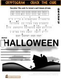 Halloween Worksheet Gr5 Cryptogram