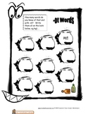 Halloween Worksheet -ot words