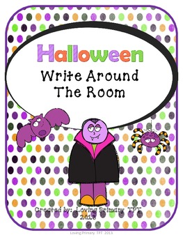 Halloween - Write Around the Room