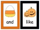 Halloween Write the Room Sight Words