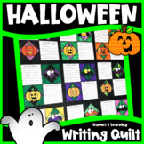 Halloween Activity: Halloween Writing Prompts Quilt