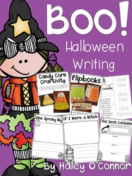Halloween Writing Printables, Activities, and Flipbooks