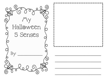 Halloween Writing - 5 Senses