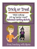 Halloween Writing Activity