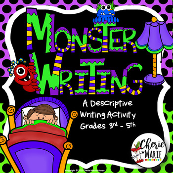 Monster Writing Craftivity