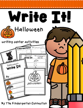 Halloween Writing Center Activities