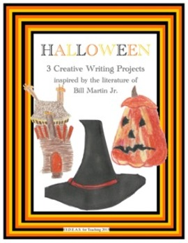 Halloween Writing-Integrated with  Bill Martin Jr.'s Liter
