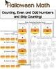 Halloween Writing and Math Activities {Print and Go Hallow