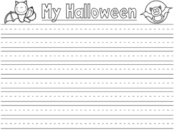 Halloween Writing Paper Dollar Deal
