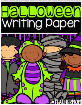 Halloween Writing Paper Pack