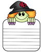 Halloween Writing Paper:  Witch Journal Paper