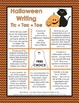 Halloween Writing - Tic Tac Toe