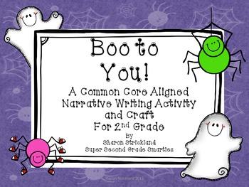 Halloween Writing with Craft