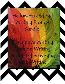 Halloween and Fall Writing Prompt Bundle