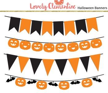 Halloween banners clip art images, halloween clip art