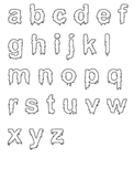 Halloween clip art with Slimy Numbers and Alphabet