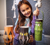 Halloween crafts activities lanterns and FREE fact sheet c