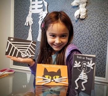 Halloween crafts make your own cards and FREE fact sheet c