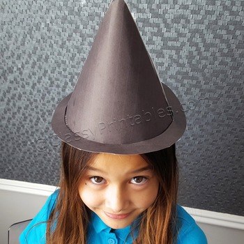Halloween crafts activities witch's hat and FREE fact shee