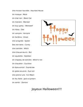 Halloween en France