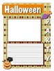 Halloween memory writing prompt