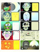 Halloween tags / candy wraps