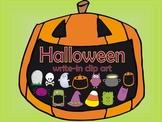 Halloween write in clip art