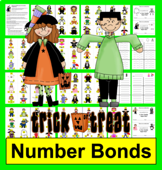 Halloween Math SPOOK-tacular Fact Families!  Addition and