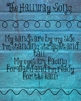 Hallway Song Poster