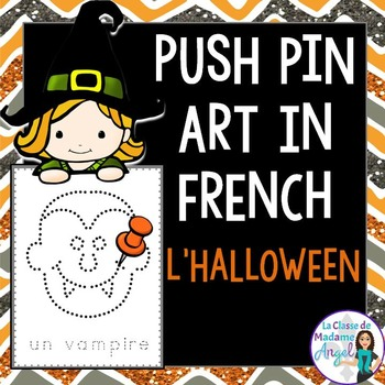 Halloween Themed Pinning Pages in French