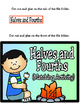 Halves and Fourths (Using 2D Figures): 1st Grade TEKS 1.6G
