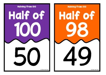 Halving from 100